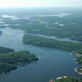 Lake of the Ozarks, MO at  for