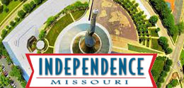 Independence, Missouri at  for