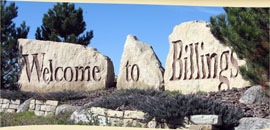 Billings, Montana at  for