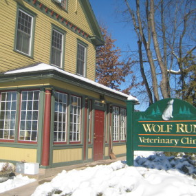Wolf Run Veterinary Clinic at  for