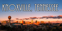 Knoxville, Tennessee at  for