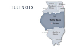 Central Illinois at  for