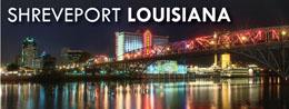 Shreveport, Louisiana at  for