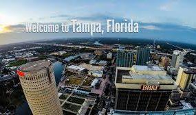 Tampa, Florida at  for