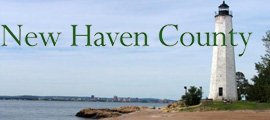 New Haven County at  for